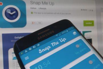 Snap Me Up, um alarme que o força a tirar uma selfie para pará-lo