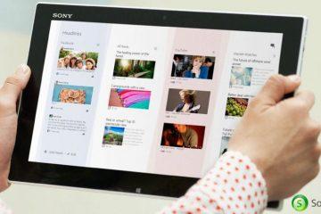 O leitor de feeds Sony Socialife, compatível com mais dispositivos Android