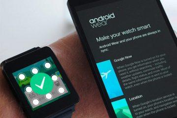 Adicione uma tela de bloqueio ao seu Android Smartwatch com Showear