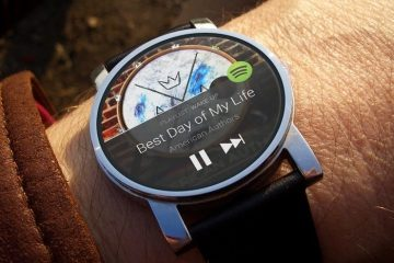 Agora você pode usar o Spotify no seu Android Wear