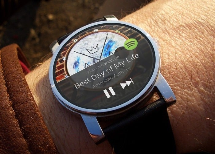Spotify para Android Wear