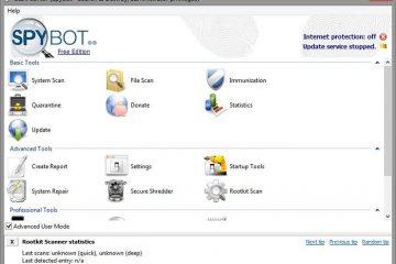 Descubra a versão portátil do Spybot – Search & Destroy