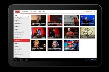 TED, o aplicativo para ver conferências e debates interessantes no seu Android