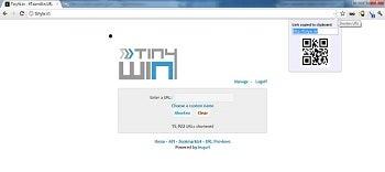 Encurtador de URL do TWurl