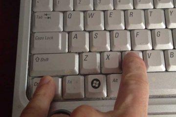 Resolva problemas com copiar e colar e similares no teclado