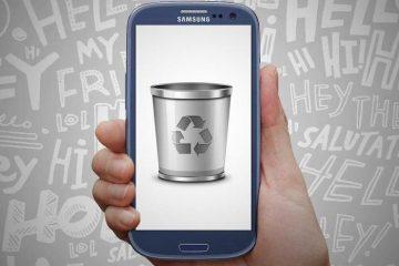 Digite Machine, recupere textos excluídos ou excluídos no seu Android