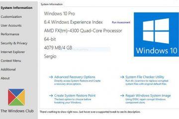Ajuste o Windows 10 conforme sua conveniência com o Ultimate Windows Tweaker 4