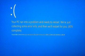 """Como corrigir o erro """"DRIVER_VERIFIER_DETECTED_VIOLATION"""" no Windows 8.1 / 10?"""