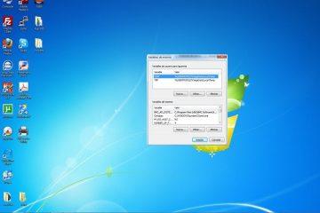 O que é uma variável de ambiente no Windows?