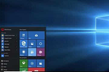 Crie um atalho para exibir a área de trabalho no Windows 10