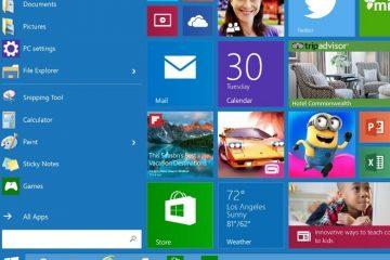 Desative completamente as animações no Tiles no menu Iniciar do Windows 10
