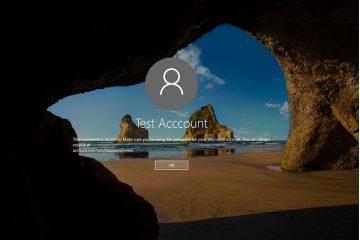Configure o bloqueio da sua conta se a senha for digitada incorretamente no Windows 10