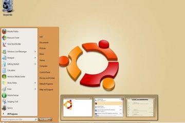 Dê uma aparência mais estilo Ubuntu ao seu Windows 7