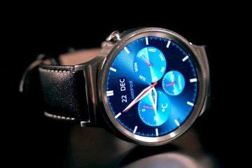 Relógios de pulso armados com efeito 3D para o seu Android Wear