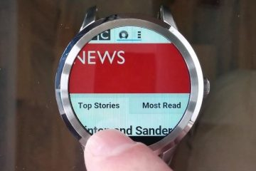 Navegador da Web para Android Wear, navegue na Internet com seu smartwatch