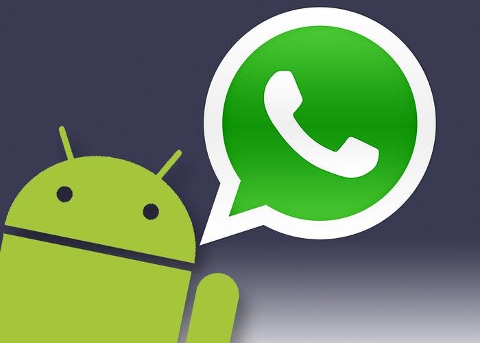 Atualização do WhatsApp para Android