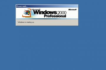 Acesse um sistema operacional Windows 2000 a partir do seu navegador da Web no Windows 10