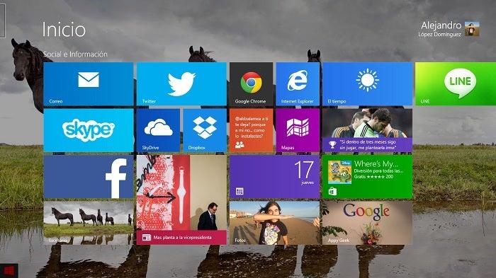 Captura do Windows 8.1