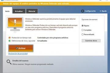 Deixe o Windows Defender ajudar seu antivírus de marca registrada a detectar infecções