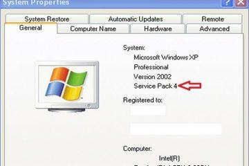 Como atualizar o Windows XP para o SP4