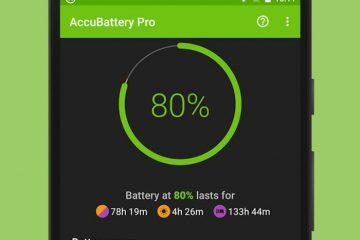 Proteja a vida útil da bateria do seu dispositivo com AccuBattery