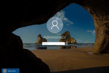 Ative e configure o usuário administrador local do Windows através de comandos
