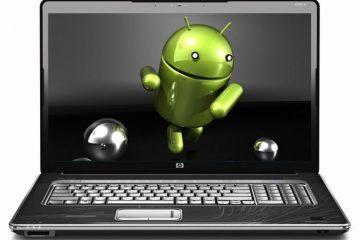 Quais são as melhores maneiras de ter o Android no nosso PC?