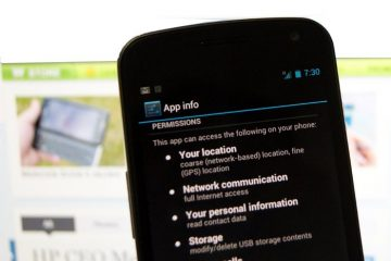 Gerenciador de permissão no Android 4.3