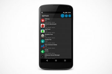 ApkTrack, controle em detalhes as atualizações de seus aplicativos