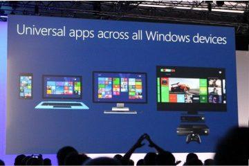 Você sabe o que são aplicativos universais do Windows?