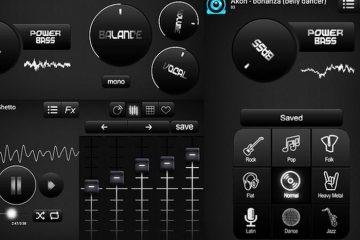 Melhore o som do seu dispositivo com Bass Booster e Equalizer