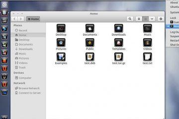 Mais ícones com botões para personalizar seu Linux