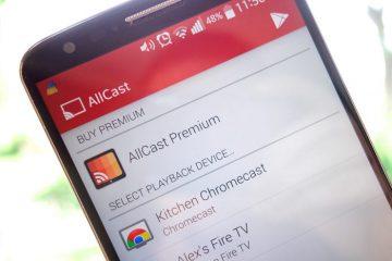 Transmita vídeos, fotos e músicas de um Android para outro com o AllCast