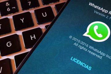 Mude a cor do seu WhatsApp com o substrato