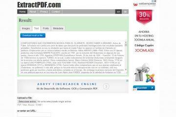 Extraia imagens e textos de um PDF com o ExtractPDF