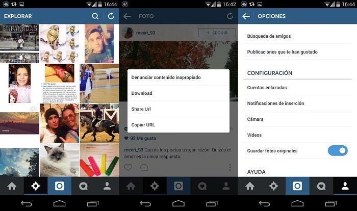 Capturas do Instagram +