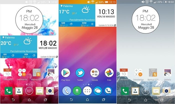 Interface LG G3