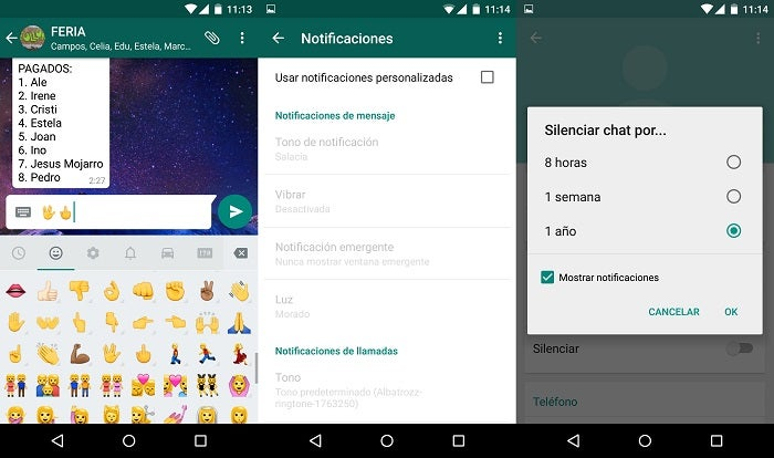 pegar novos emojis do WhatsApp