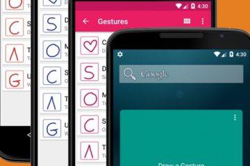 Configure seus próprios gestos com o ClearView Gestures