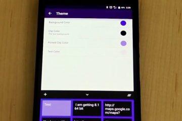 Native Clipboard, uma área de transferência muito completa para Android