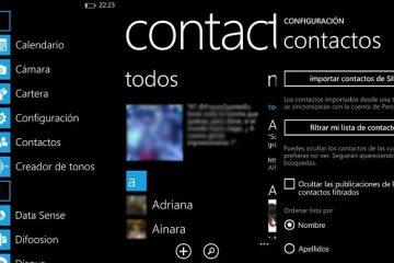 Desativar o novo recurso de contatos de atualização de criadores de queda do Windows 10