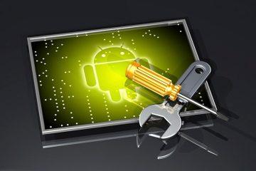 Por que os telefones Android não são diretamente enraizados?