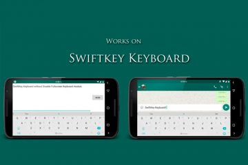 Faça com que o teclado não seja exibido em tela cheia se estivermos na horizontal