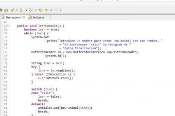 Programação orientada a objetos: entrada / saída de dados