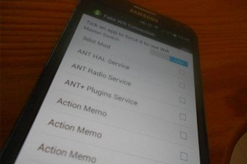 Se você é root, faça o Android acreditar que estamos conectados ao Wi-Fi