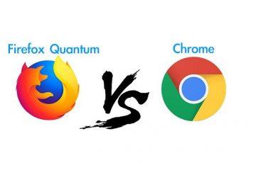 Qual navegador carrega páginas mais rapidamente? Firefox ou Chrome?