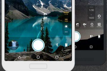 Aproveite os recursos fotográficos do seu smartphone graças à câmera Footej