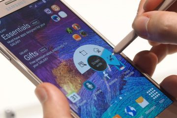 Como fazer uma captura de tela no Samsung Galaxy Note 4