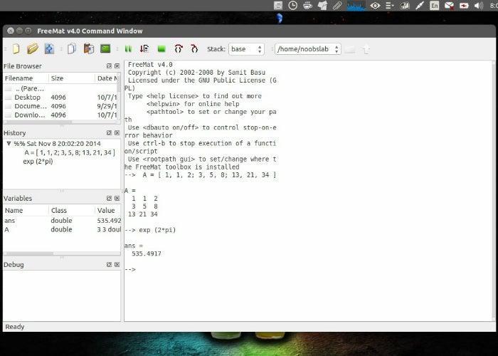 freemat-ubuntu