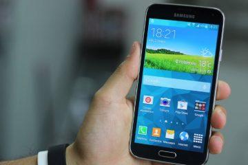 Como usar o Galaxy S5 com luvas